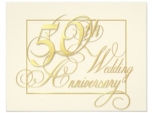 50th wedding anniversary gift